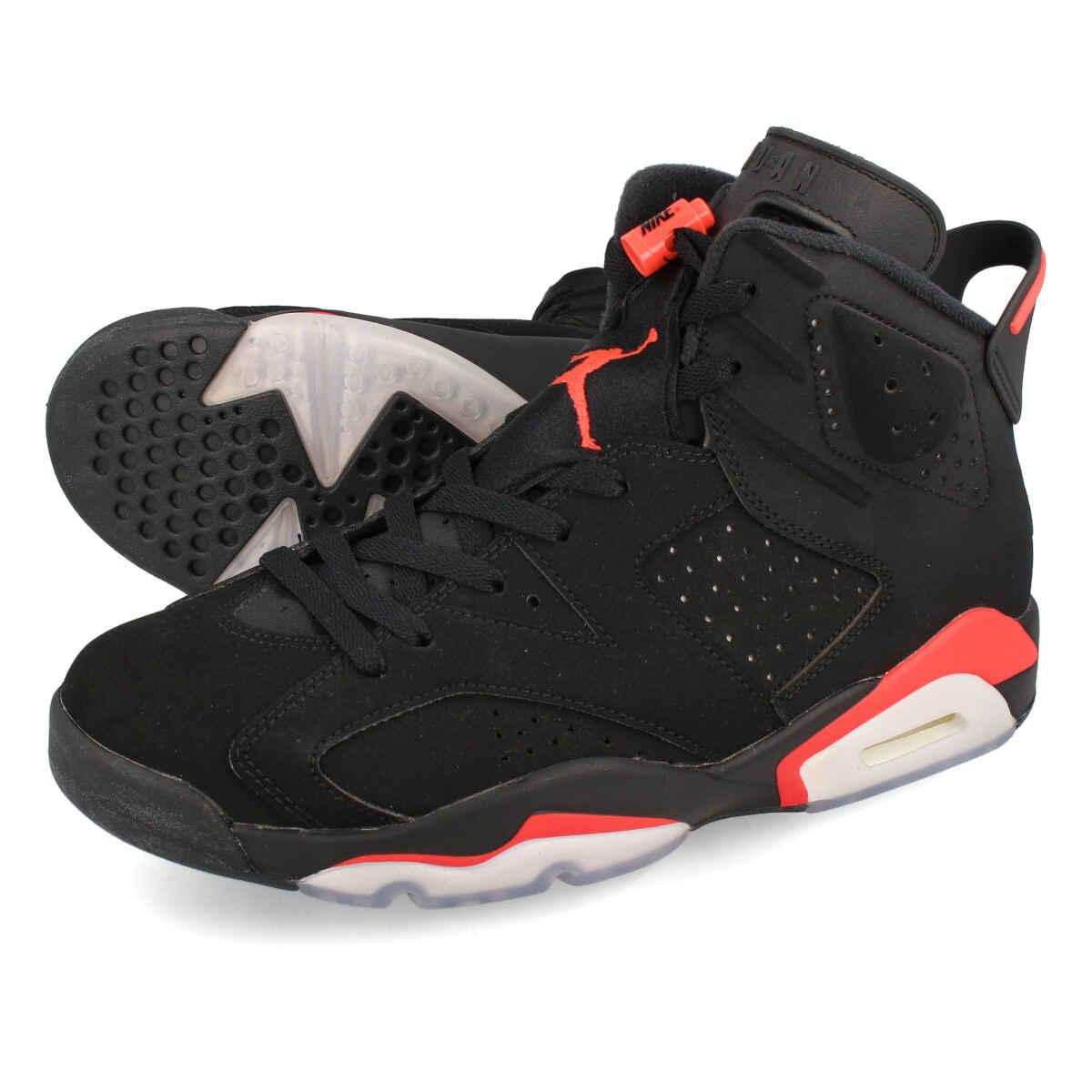 8380607d1dc97 LOWTEX PLUS: NIKE AIR JORDAN 6 RETRO GS Nike Air Jordan 6 nostalgic GS BLACK /INFRARED 384,665-060 | Rakuten Global Market