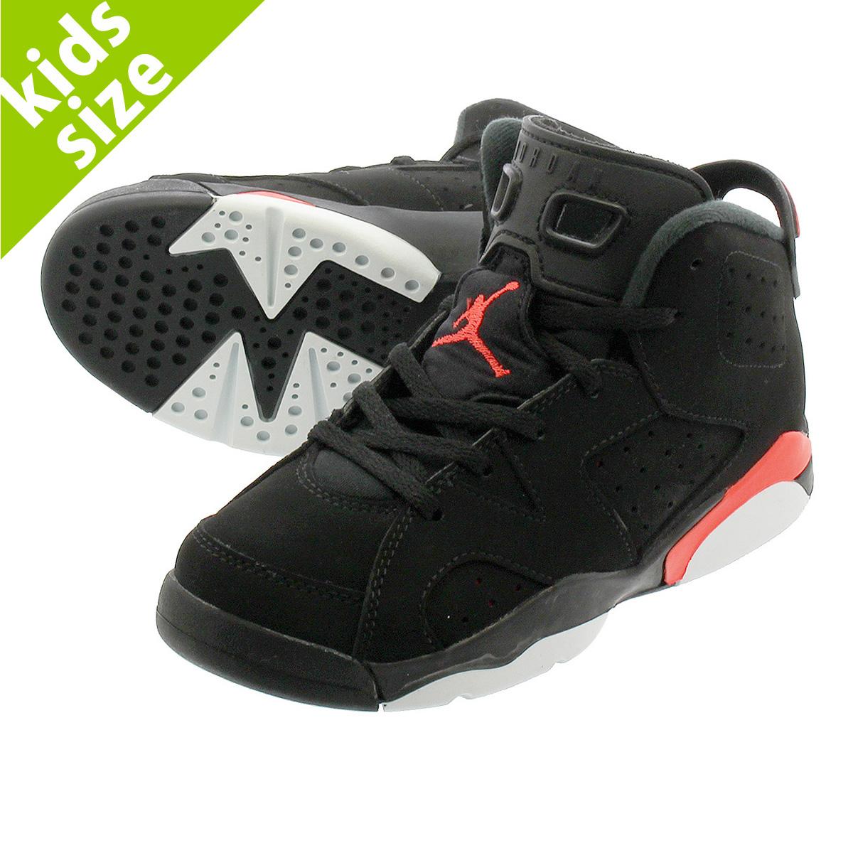 6f60530b12a NIKE AIR JORDAN 6 RETRO BP Nike Air Jordan 6 nostalgic BP BLACK INFRARED  384