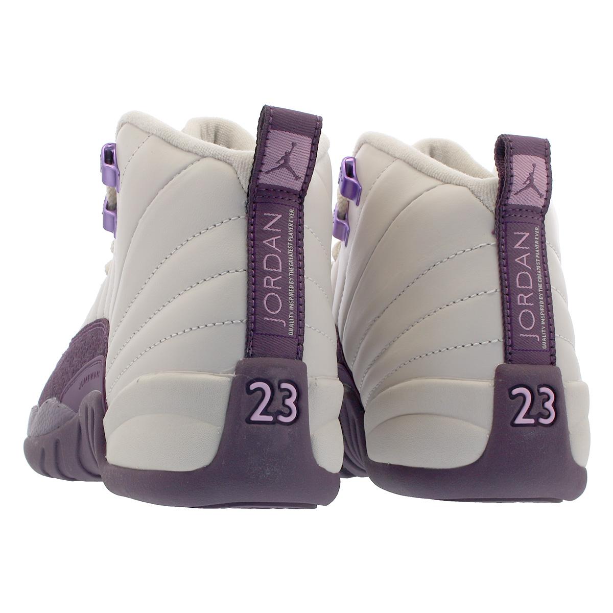 aa6fff2dbf1e NIKE AIR JORDAN 12 RETRO GS Nike Air Jordan 12 nostalgic GS DESERT SAND DESERT  SAND PRO PURPLE 510