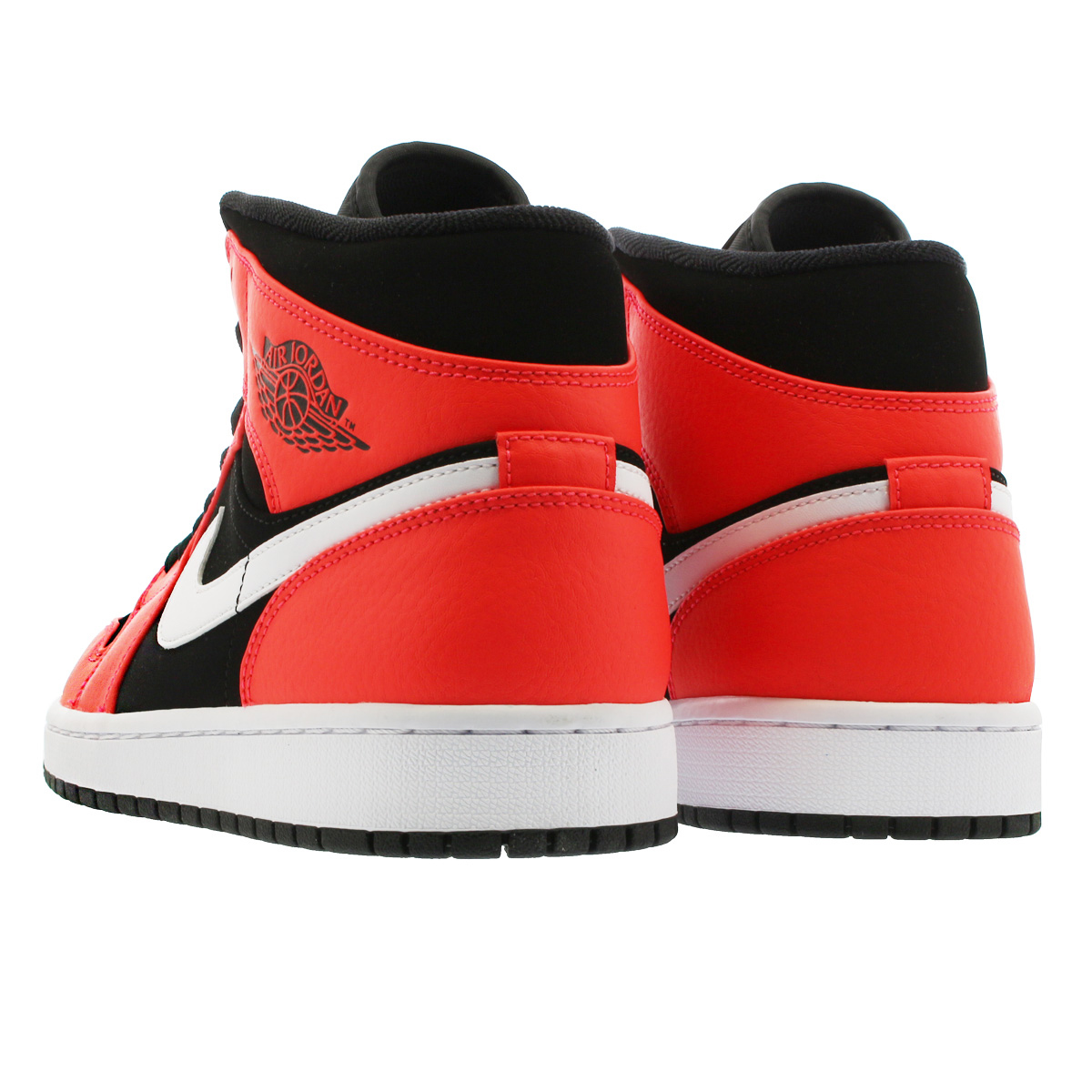 best loved 7db38 83ee1 NIKE AIR JORDAN 1 MID Nike Air Jordan 1 mid BLACK INFRARED 23 WHITE 554,724- 061