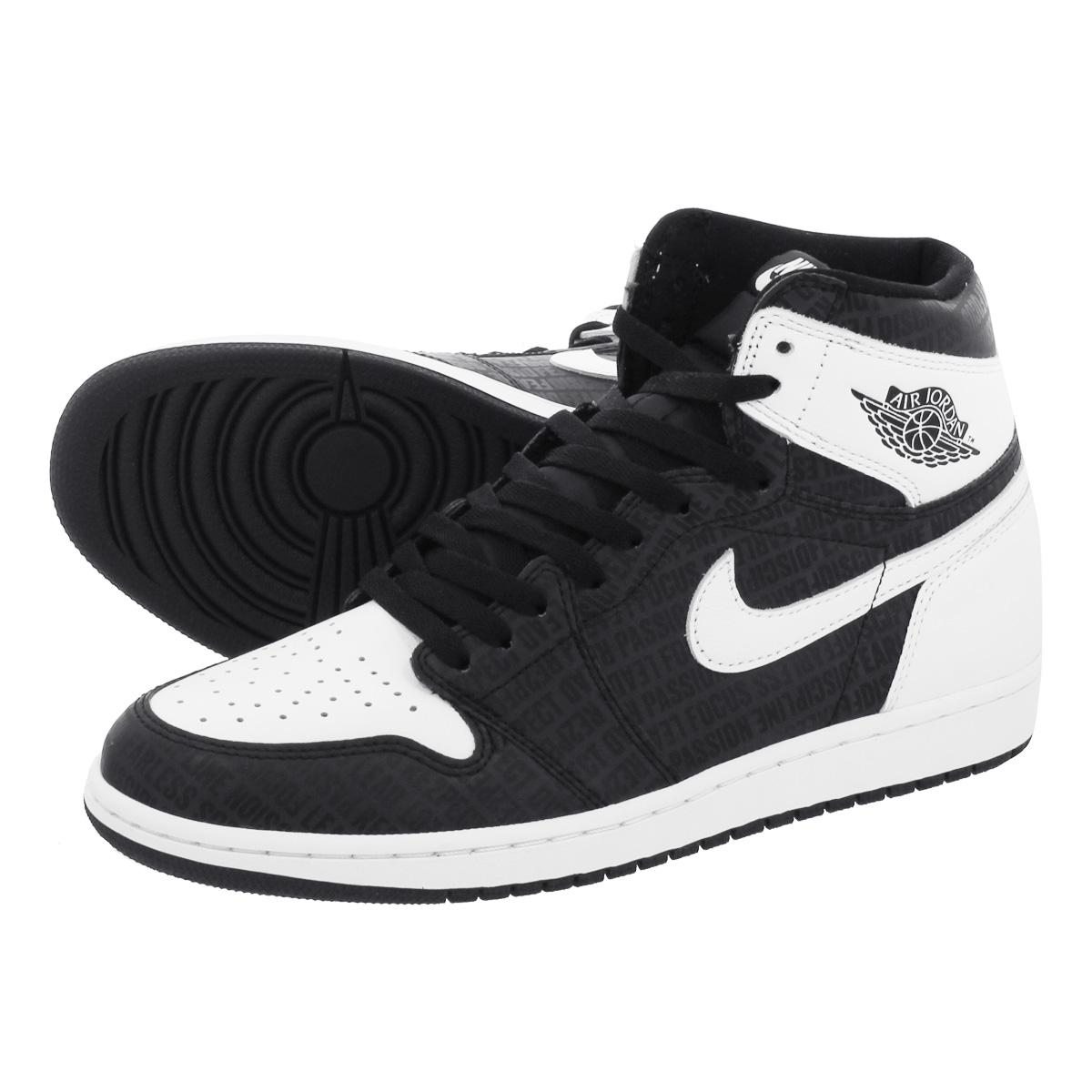 d907c546cfb LOWTEX PLUS: NIKE AIR JORDAN 1 RETRO HIGH OG Nike Air Jordan 1 nostalgic high  OG BLACK/WHITE 555,088-008 | Rakuten Global Market