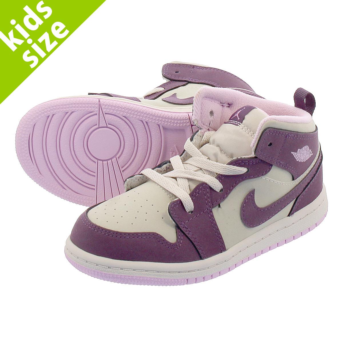 new arrival 4ab40 64d4d NIKE AIR JORDAN 1 MID GT Nike Air Jordan 1 mid GT PURPLE DESERT SAND ARCTIC  PINK 644,507-500