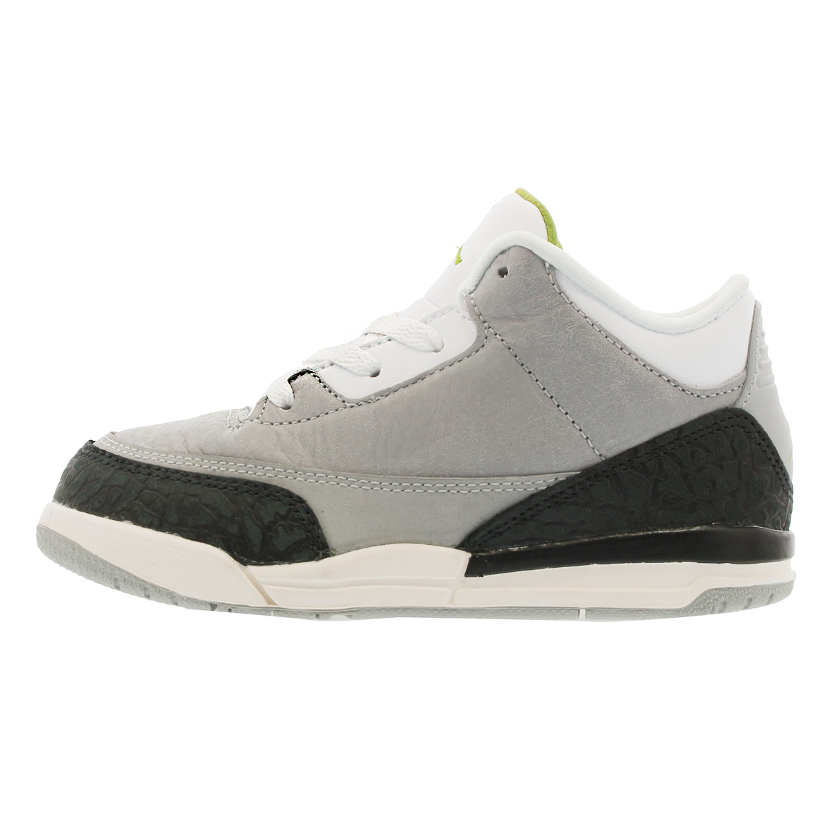 9e81a83b5ef ... NIKE AIR JORDAN 3 RETRO BT Nike Air Jordan 3 nostalgic BT LIGHT SMOKE  GREY/ ...