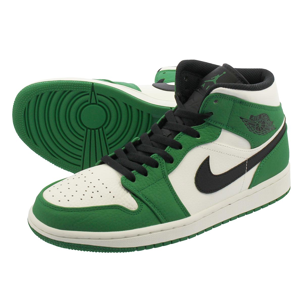 new style a7dc9 5437e NIKE AIR JORDAN 1 MID SE Nike Air Jordan 1 mid SE PINE GREEN SAIL BLACK  852,542-301