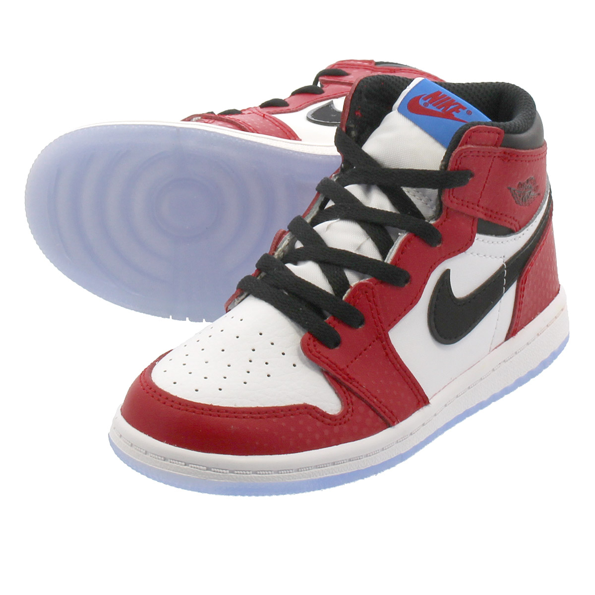 6e448d7348c NIKE AIR JORDAN 1 RETRO HIGH OG BT耐吉空氣喬丹1重新流行高OG BT GYM RED WHITE PHOTO  BLUE BLACK aq2665-602
