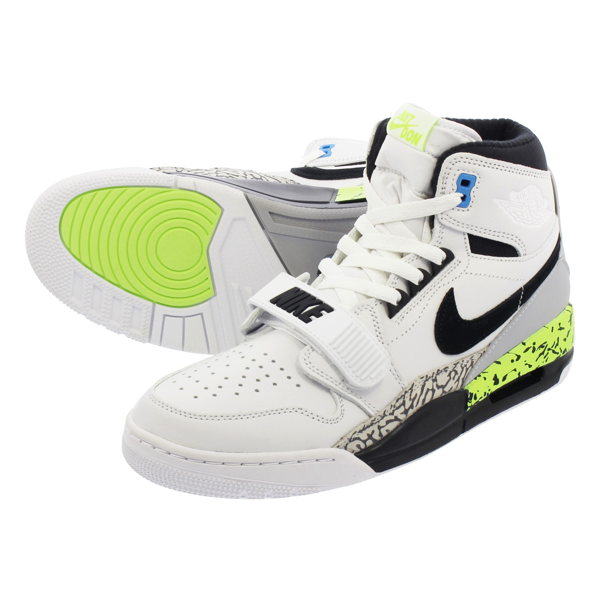 quality design ff6a7 e0c10 NIKE AIR JORDAN LEGACY 312 NRG Nike Air Jordan Legacy 312 NRG WHITE VOLT VIVID  BLUE