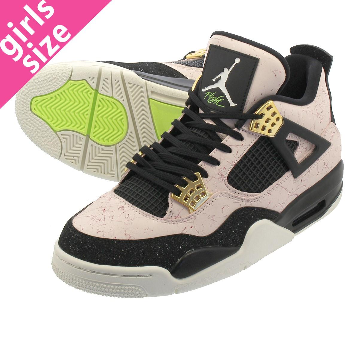 1fa9d0ee8ea NIKE WMNS AIR JORDAN 4 RETRO Nike women Air Jordan 4 nostalgic SILT  RED BLACK ...