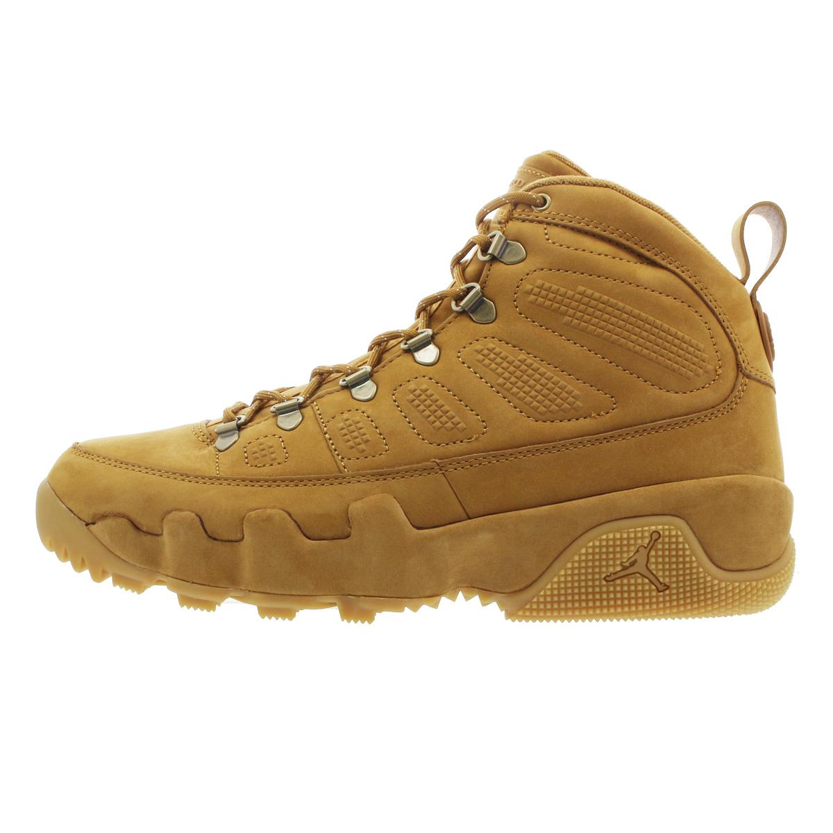 new style 65b82 144be NIKE AIR JORDAN 9 RETRO NRG Nike air Jordan 9 nostalgic NRG  WHEAT/WHEAT/BAROQUE BROWN ar4491-700