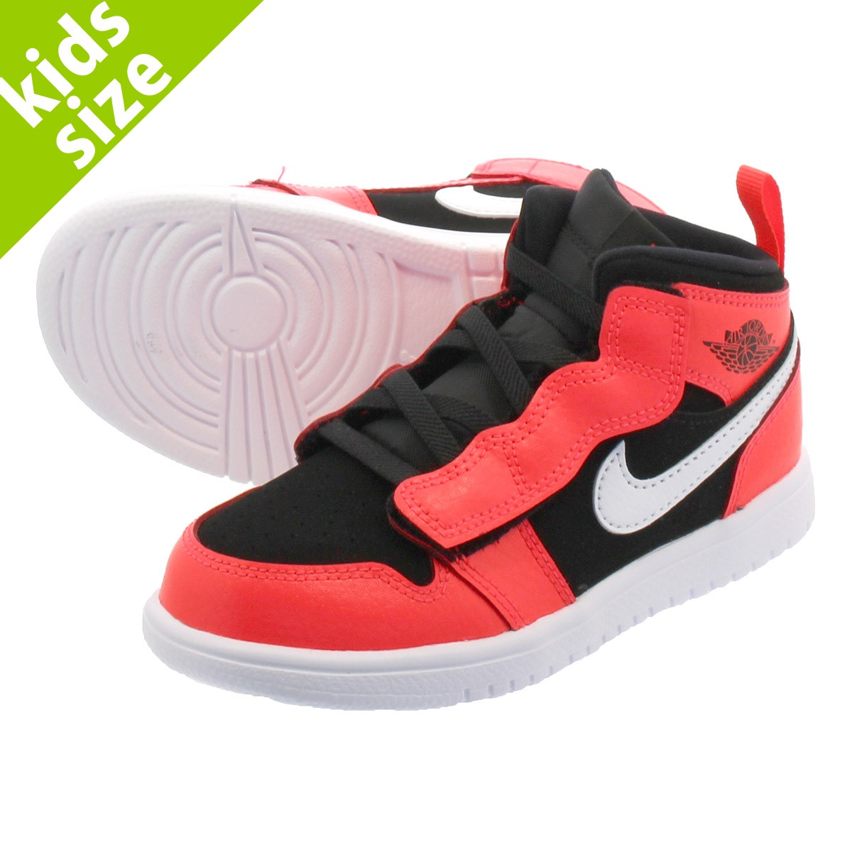 buy online ce212 be4f5 NIKE AIR JORDAN 1 MID ALT TD Nike Air Jordan 1 mid ALT TD BLACK  ...