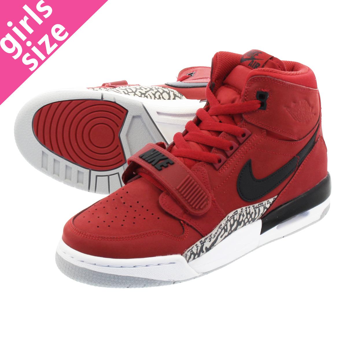 8080d659b512cc NIKE AIR JORDAN LEGACY 312 GS Nike Air Jordan Legacy 312 GS VARSITY  RED BLACK WHITE at4040-601