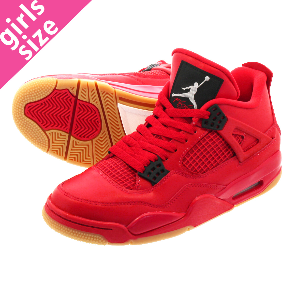 a9e6202fbf4956 LOWTEX PLUS  NIKE WMNS AIR JORDAN 4 RETRO NRG FIRE RED SUMMIT WHITE ...