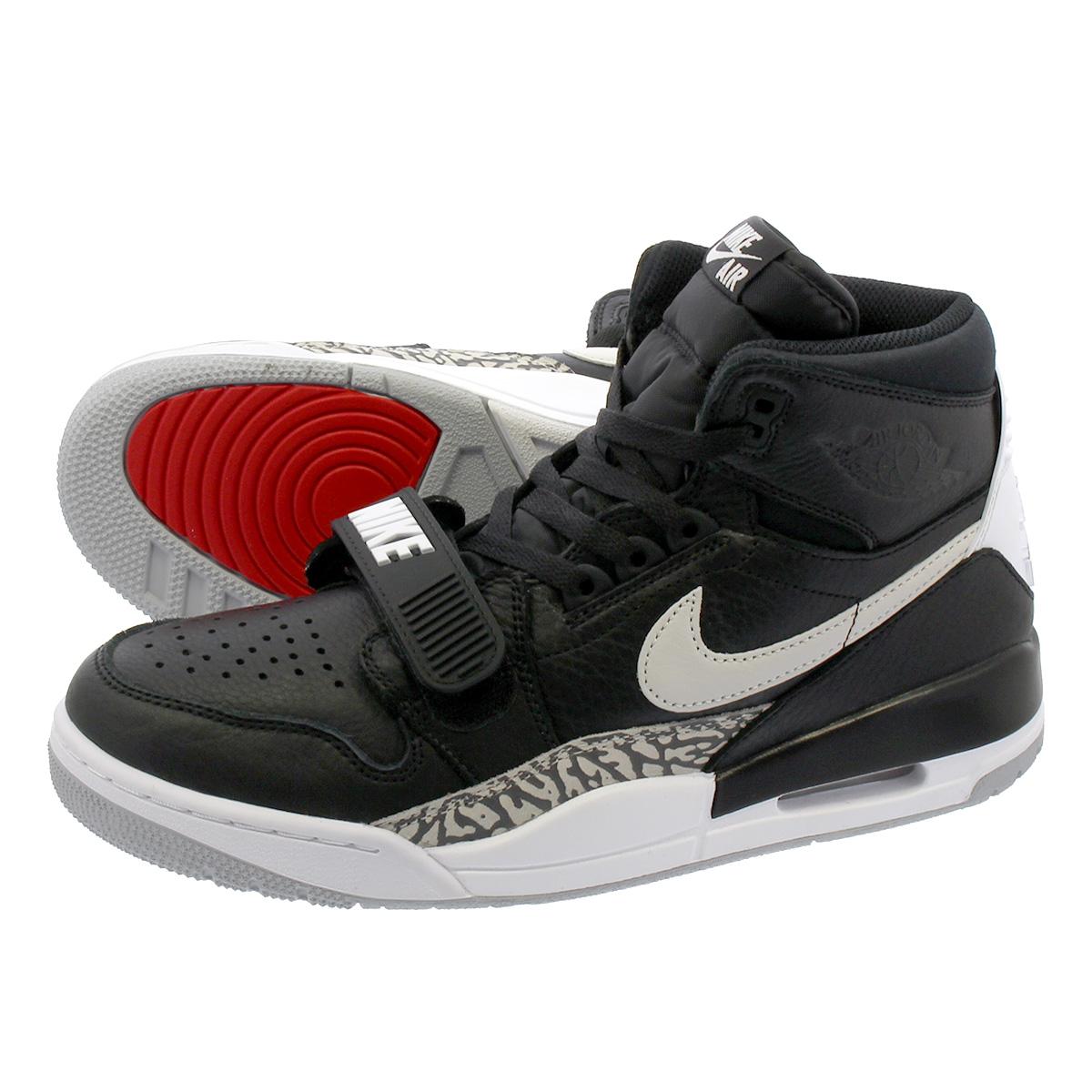 reputable site 30a7c d0451 NIKE AIR JORDAN LEGACY 312 Nike Air Jordan Legacy 312 BLACK WHITE av3922-001
