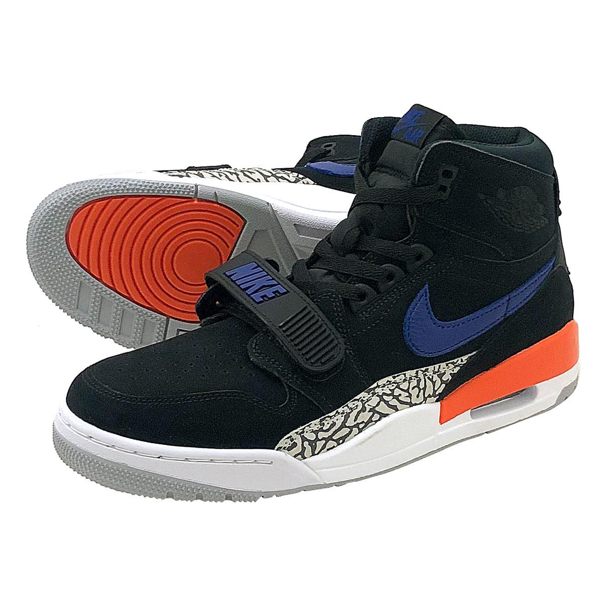 buy popular 72e79 7810e LOWTEX PLUS  NIKE AIR JORDAN LEGACY 312 Nike Air Jordan Legacy 312  BLACK RUSH BLUE ORANGE BRILLIANT av3922-048   Rakuten Global Market