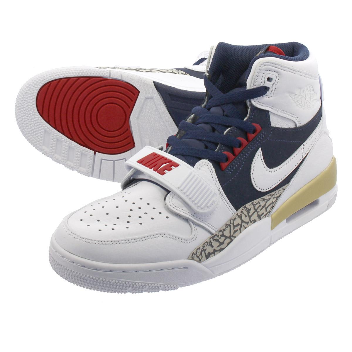 wholesale dealer f5b93 c5249 NIKE AIR JORDAN LEGACY 312 Nike Air Jordan Legacy 312 WHITE MIDNIGHT NAVY VARSITY  RED av3922-101