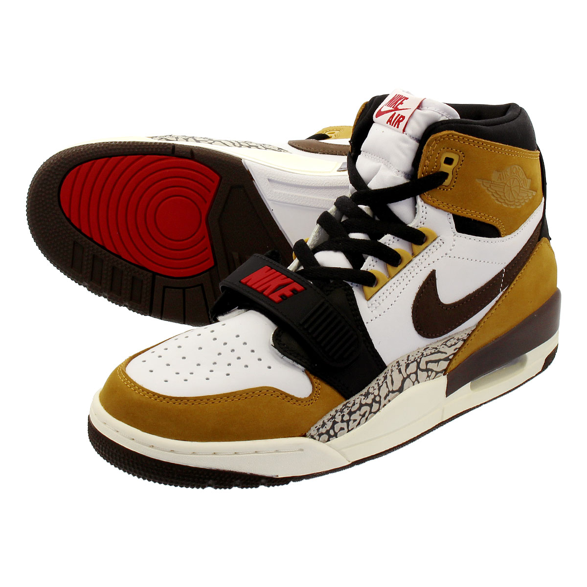 34d720ed93b456 NIKE AIR JORDAN LEGACY 312 Nike Air Jordan Legacy 312 WHITE BAROQUE  BROWN WHEAT VARSITY RED NIKE AIR JORDAN LEGACY 312 WHITE BAROQUE  BROWN WHEAT VARSITY RED ...