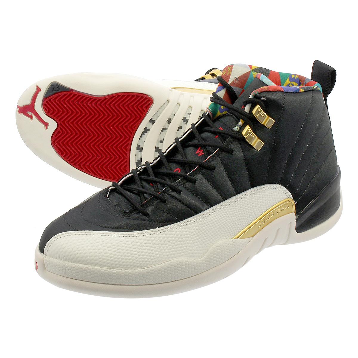 buy popular d73ce 51b39 NIKE AIR JORDAN 12 RETRO Nike Air Jordan 12 nostalgic BLACK/TRUE  RED/SAIL/METALLIC GOLD ci2977-006