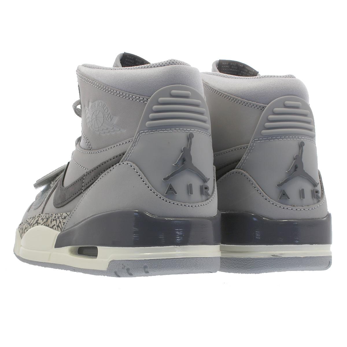 new style dc5b1 b43ec NIKE AIR JORDAN LEGACY 312 Nike Air Jordan Legacy 312 WOLF GREY LIGHT  GRAPHITE SAIL av3922-002