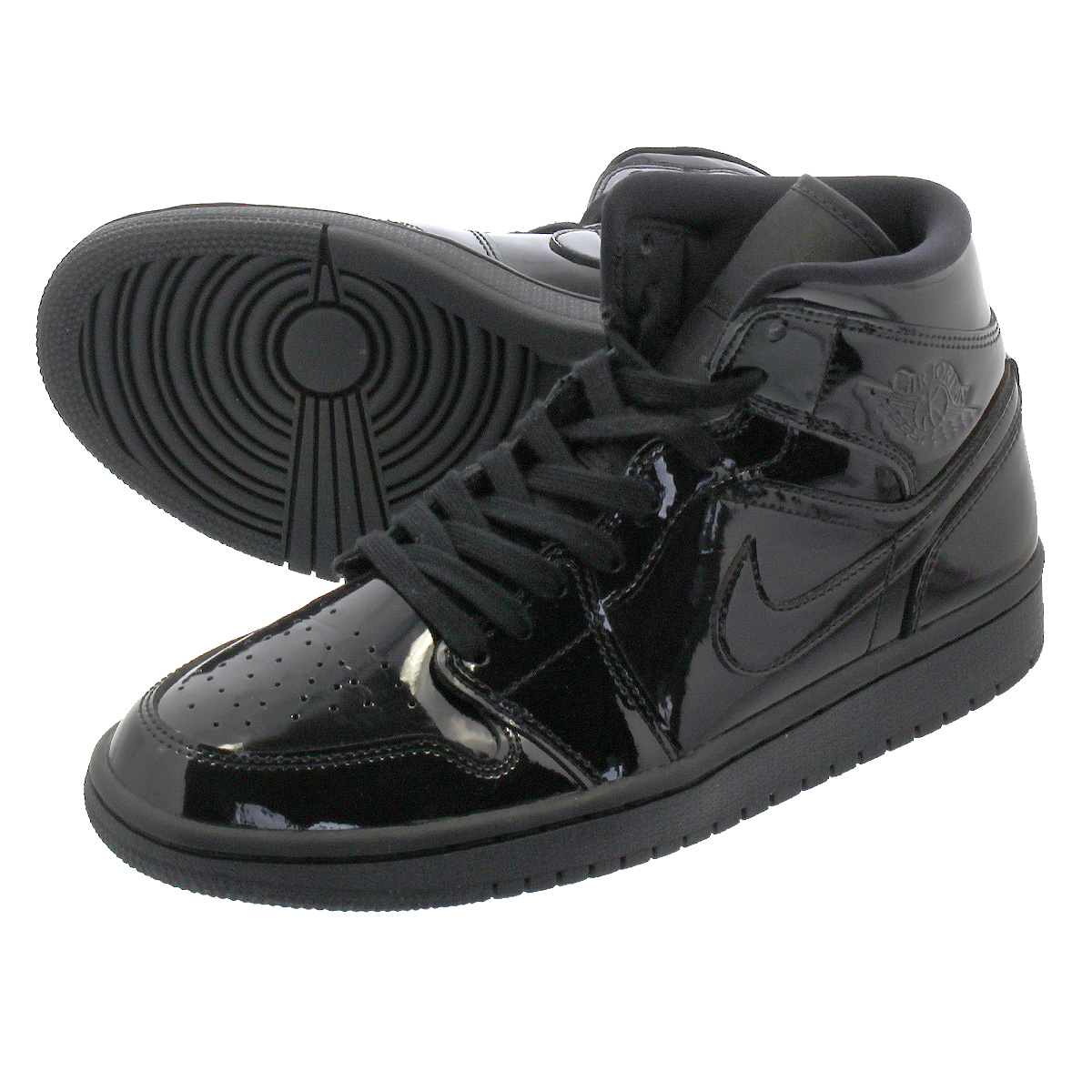 64ad7161da3a NIKE WMNS AIR JORDAN 1 MID SE Nike women Air Jordan 1 mid SE BLACK/ ...