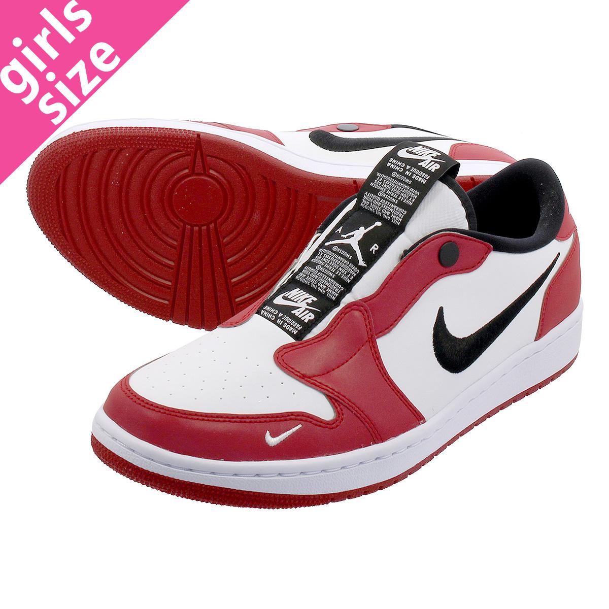 hot sales fa117 528d5 NIKE WMNS AIR JORDAN 1 SLIP Nike women Air Jordan 1 slip VARSITY  RED/BLACK/WHITE bq8462-601