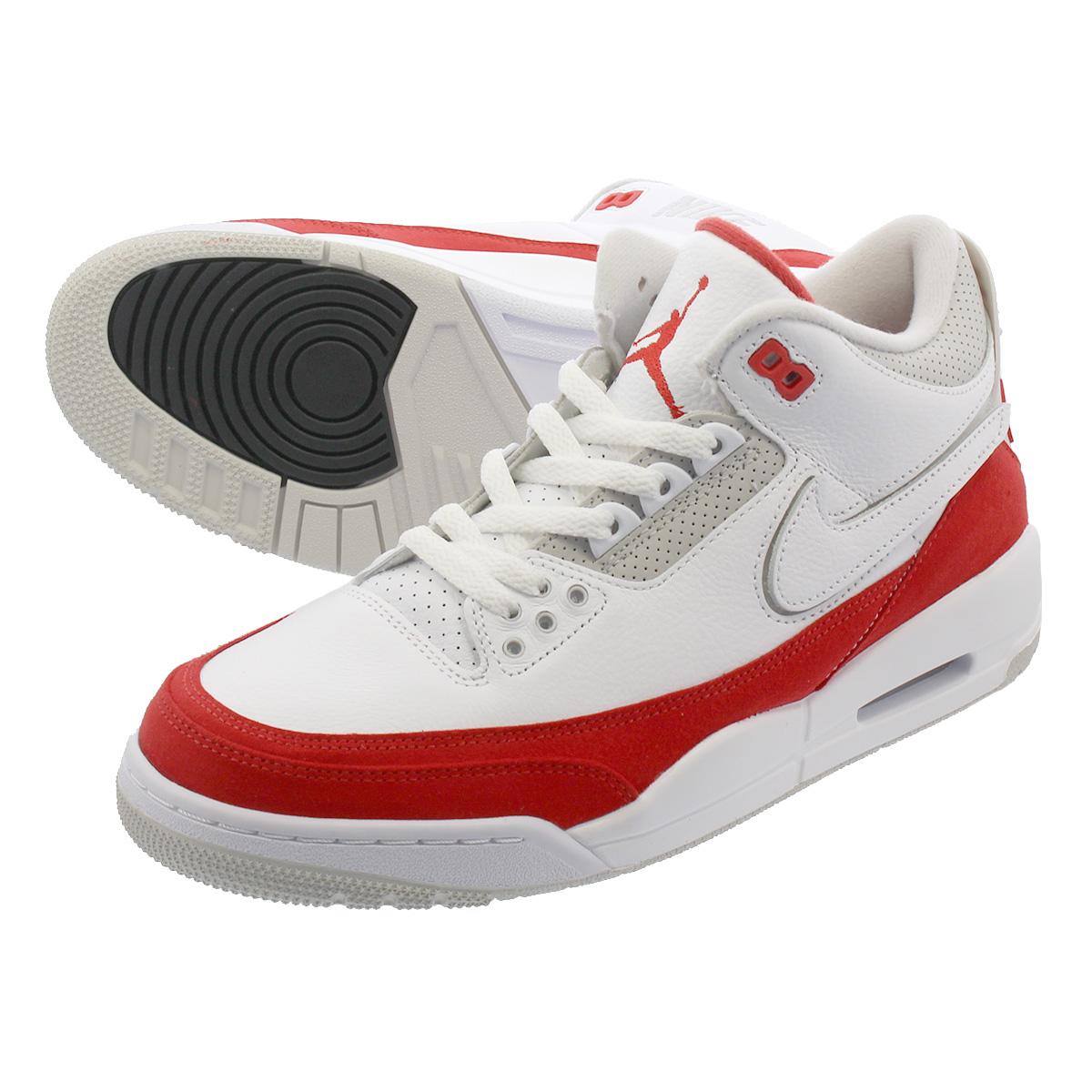 LOWTEX PLUS  NIKE AIR JORDAN 3 TINKER Nike Air Jordan 3 ティンカー WHITE UNIVERSITY  RED NEUTRAL GREY cj0939-100  99dbd31e6