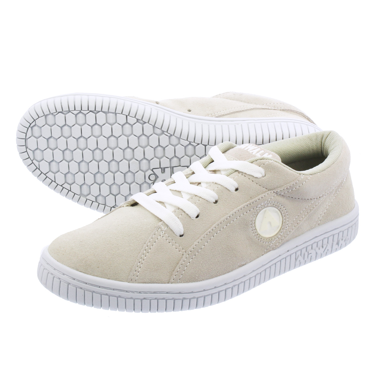 AIRWALK ONE エア ウォーク ワン WHITE/WHITE aw-cl-6007