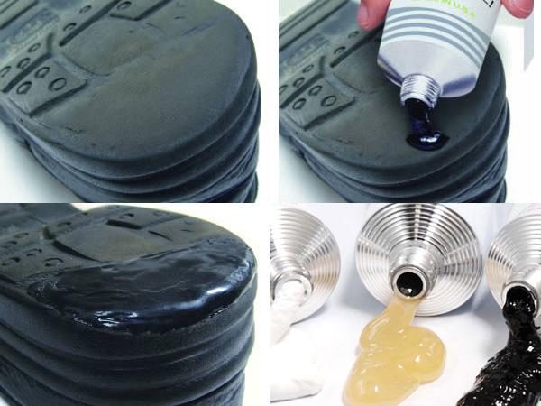 Sugar black & white natural color, rubber SHOE GOOSHOEGOO 100 g