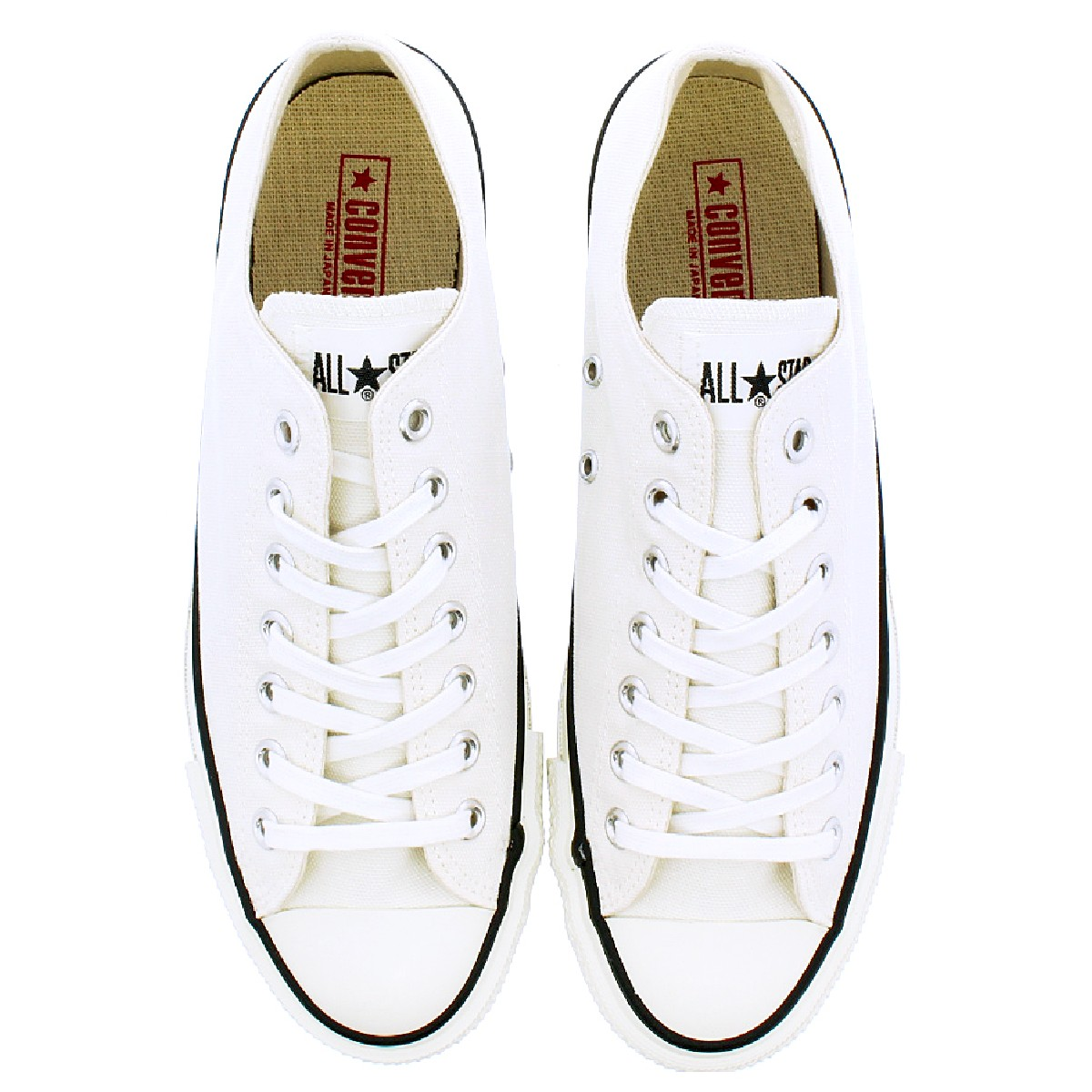CONVERSE CANVAS ALL STAR J OX WHITE 【MADE IN JAPAN】