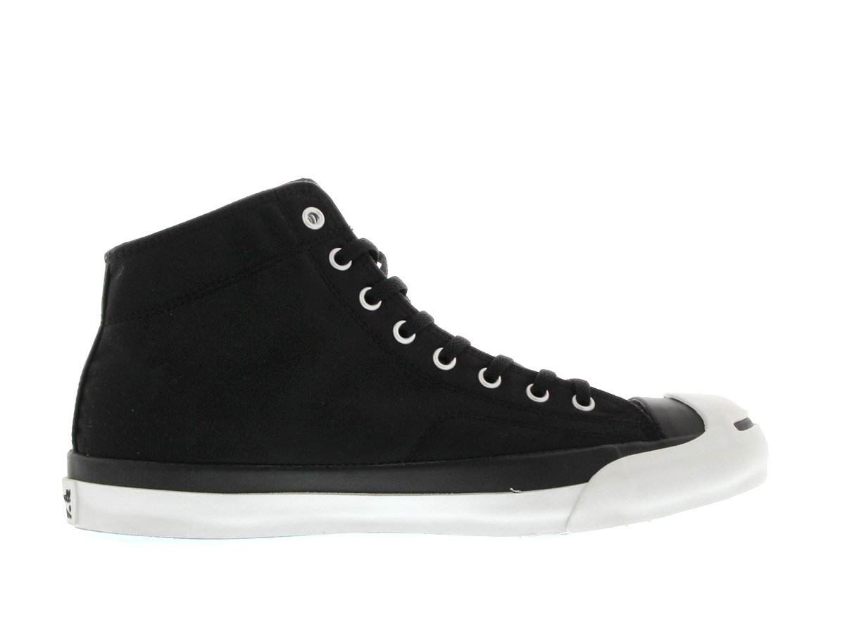 CONVERSE JACK PURCELL WAX COTTON converse Jack Purcell wax cotton BLACK/WHITE