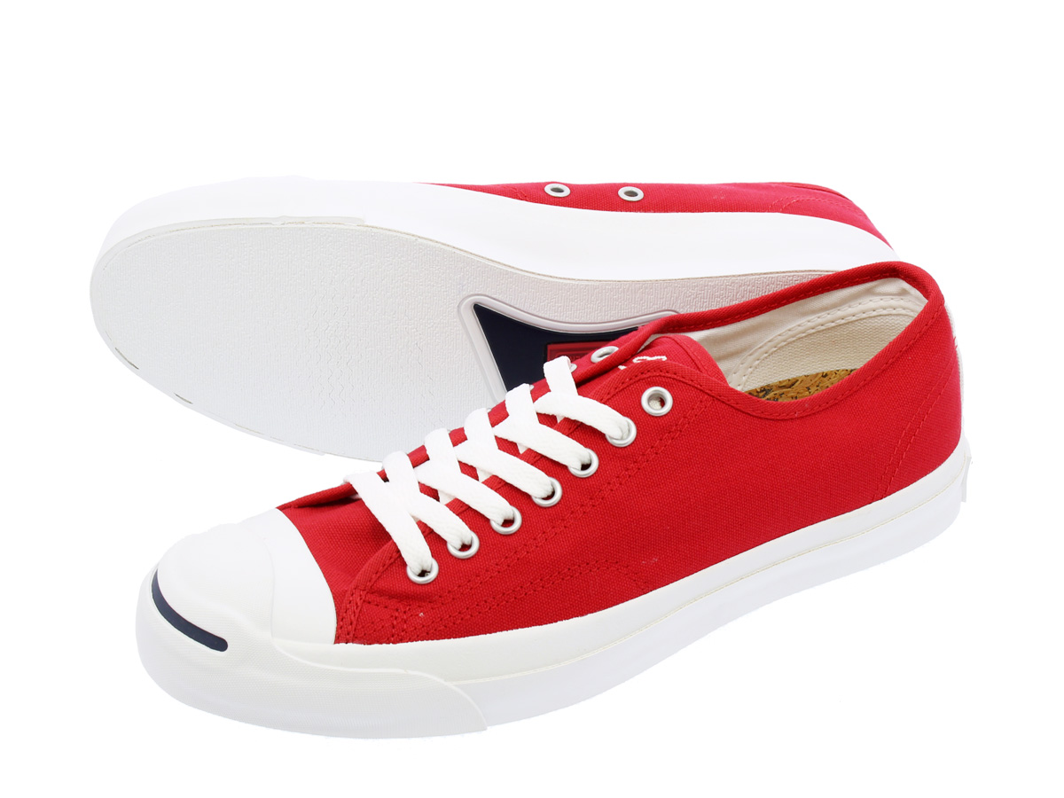 CONVERSE JACK PURCELL KNITTIE匡威杰克珀塞尔编织物泰国RED/NATURAL