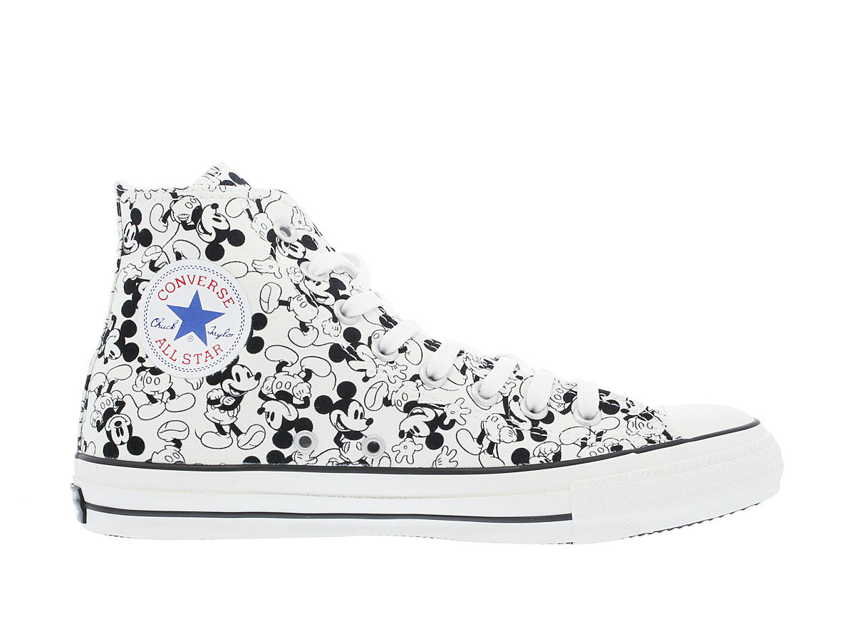 CONVERSE ALL STAR 100 MICKEY MOUSE PT HI匡威全明星100米老鼠PT HI MONO