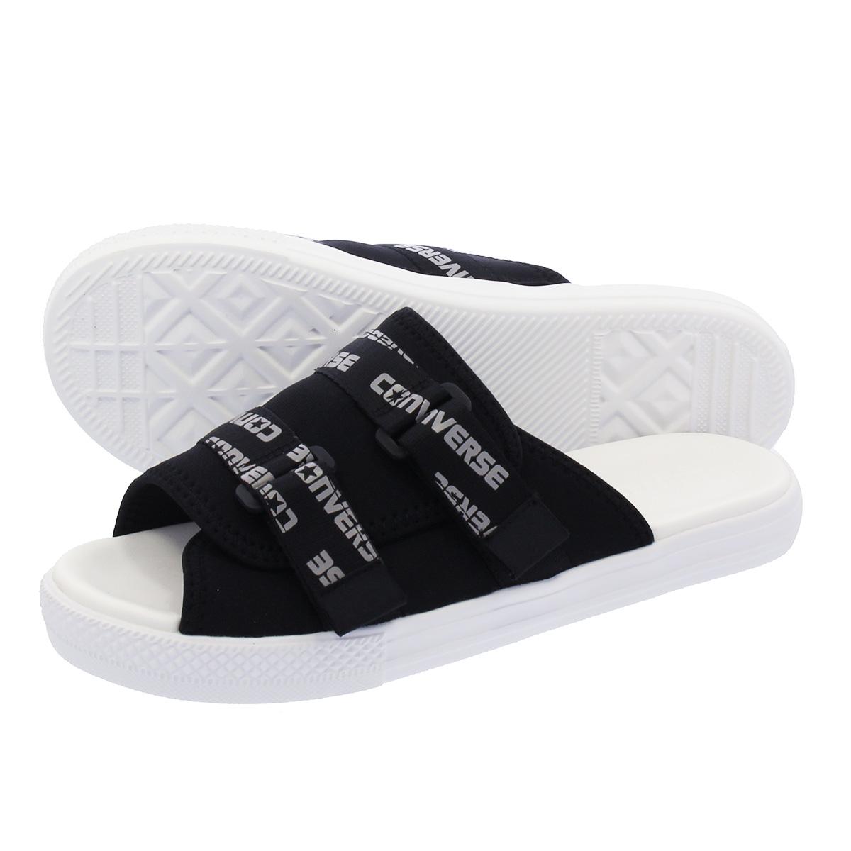 b5523b55c0cd91 LOWTEX PLUS  CONVERSE CV SANDAL STRAP Converse CV sandals strap BLACK