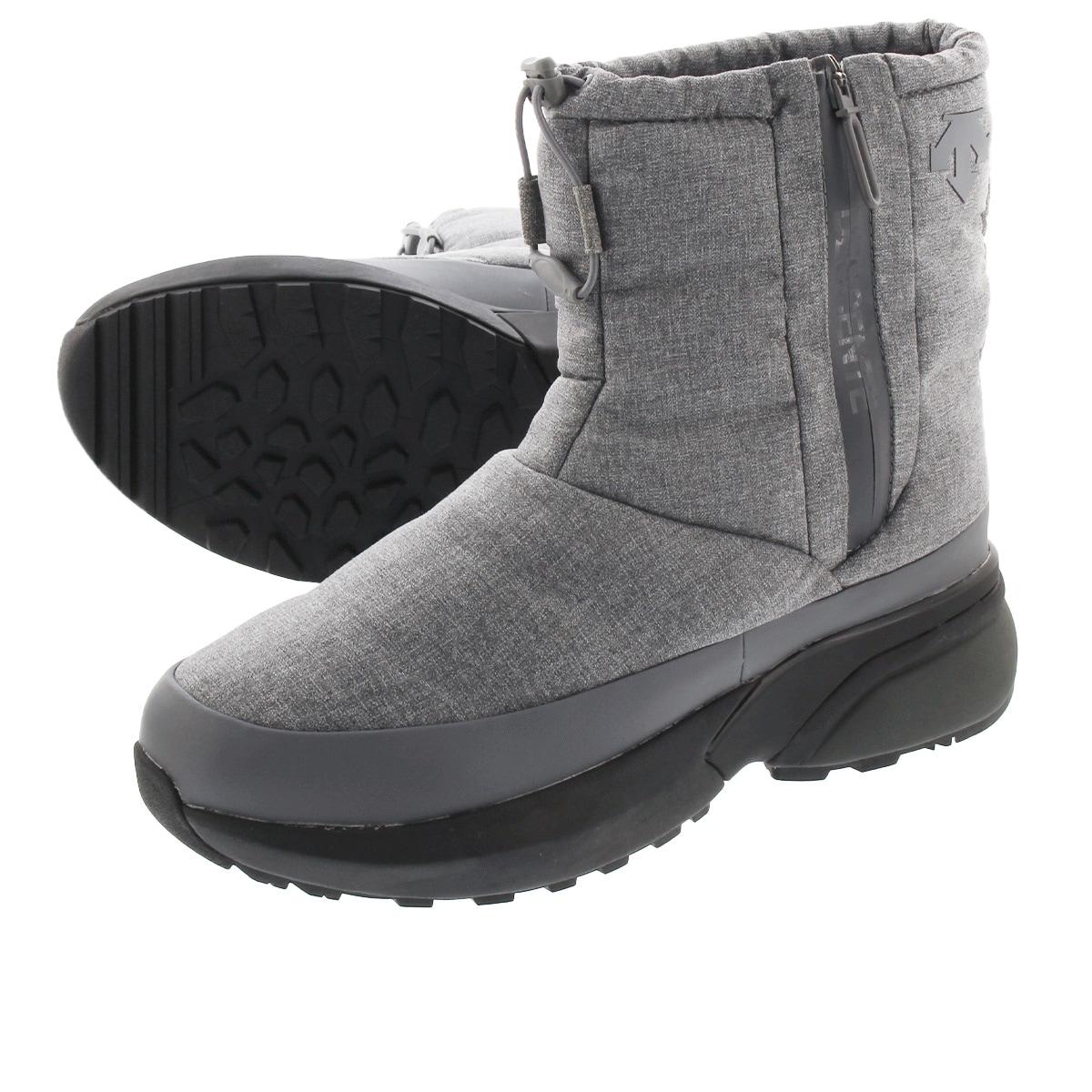 期間限定特価品 送料無料 DESCENTE デサント ブーツ スニーカー シューズ 靴 開催中 メンズ レディース スノー グレー BOOTS dm1qjd10gr ACTIVE アウトドア WINTER GREY アクティブ ウィンター 防水