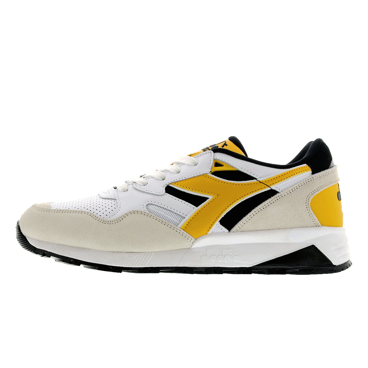 f648bf7e DIADORA N9002 BETA Deer gong N9002 beta BLACK/WHITE/BANANA 175498-c8224