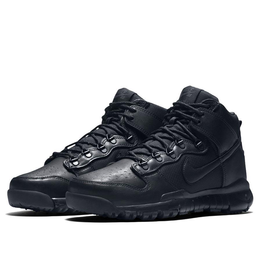 buy popular 21281 87141 ... official nike sb dunk high boot nike sb dunk high boots black black  black b394c c53c1