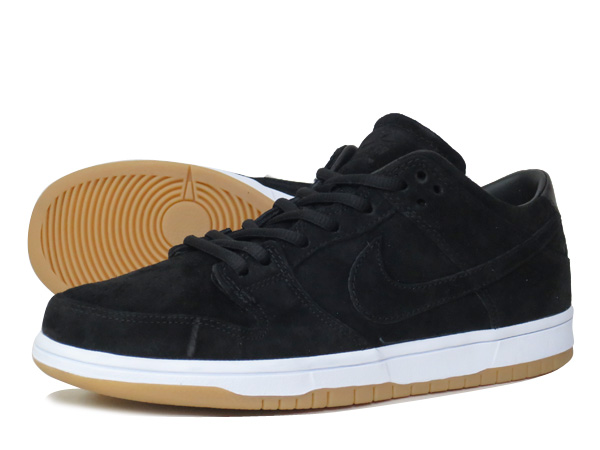 NIKE DUNK LOW ELITE SB Nike Dunk Elite Pro SB BLACK/WHITE GUM/LIGHT BROWN