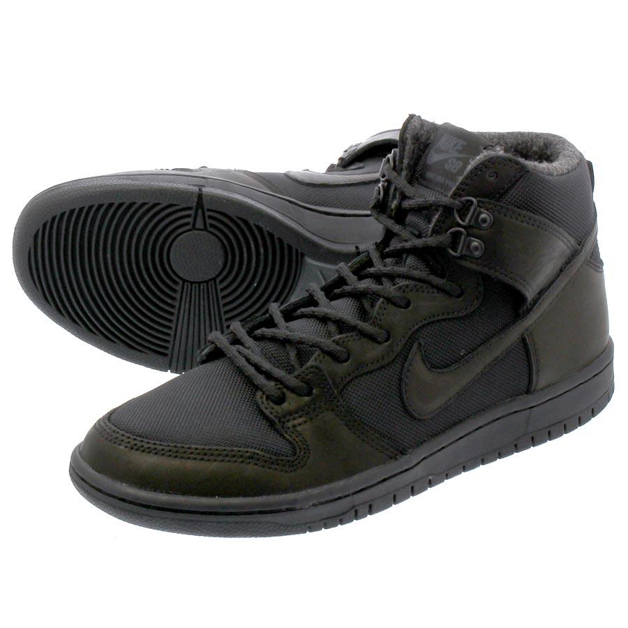 Nike SB Dunk Hi Pro Bota Shoes (black black)