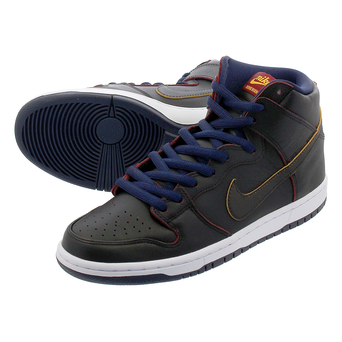 more photos d5b66 d1300 NIKE SB ZOOM DUNK HIGH PRO NBA Nike SB dunk high professional NBA  BLACK/COLLEGE NAVY/TEAM RED bq6392-001