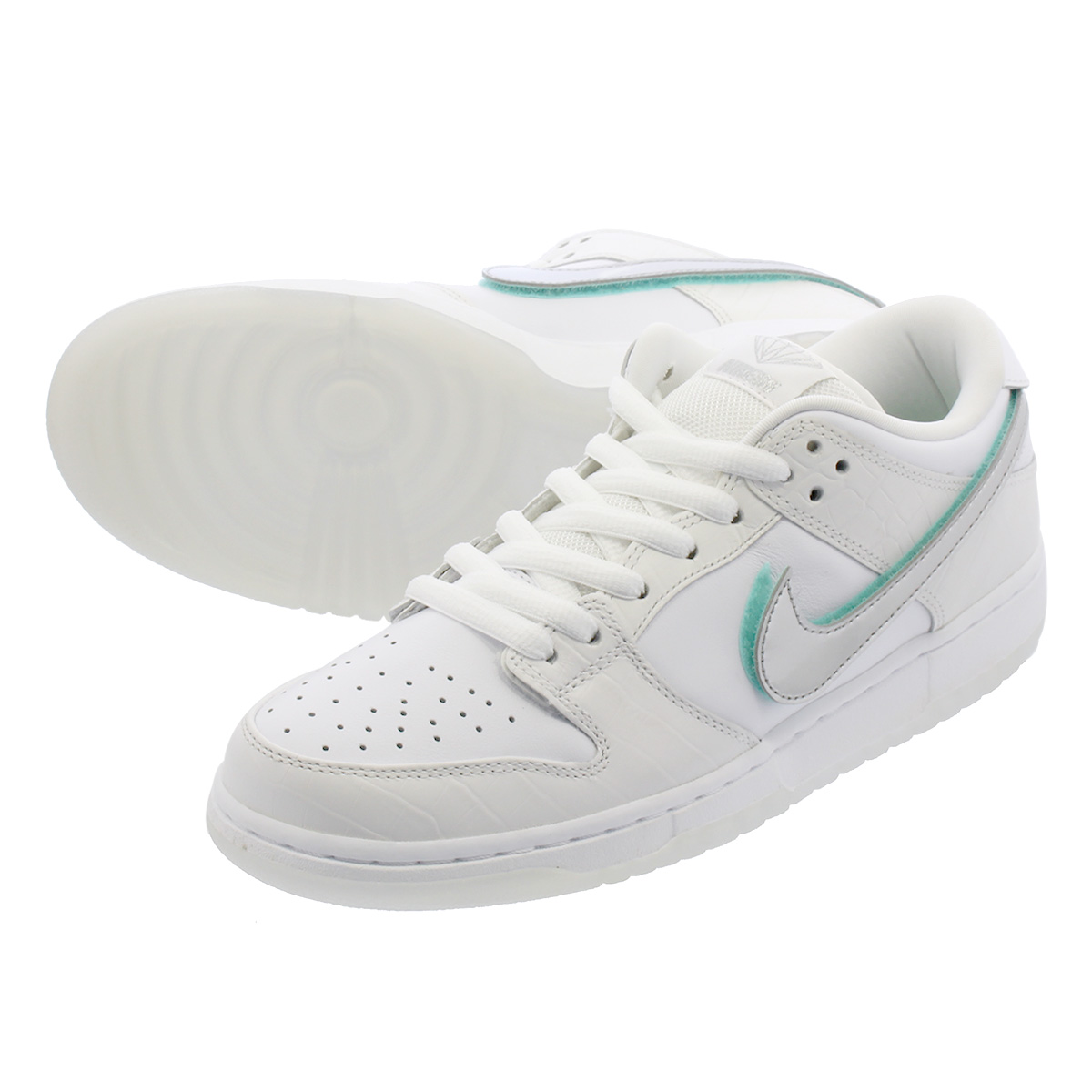 NIKE SB DUNK LOW PRO OG QS 【DIAMOND】 ナイキ SB ダンク ロー プロ オージー QS WHITE/CHROME/WHITE/TROPICAL TWIST bv1310-100