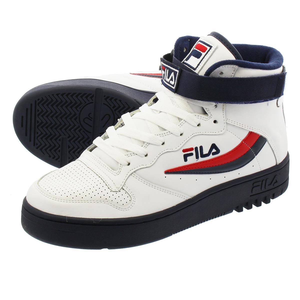 FILA FX-100 フィラ FX-100 WHITE/NAVY/RED
