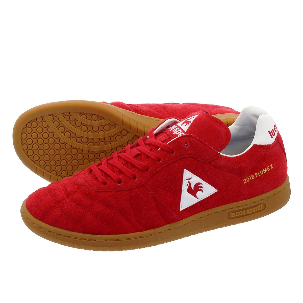 le coq sportif PLUME X ルコック スポルティフ プリューム X RED SUEDE ql1mjc51r
