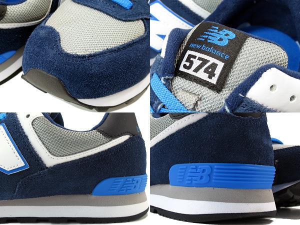 新平衡 KL574DSG 新平衡 KL 574 DSG 海军/灰色/蓝色