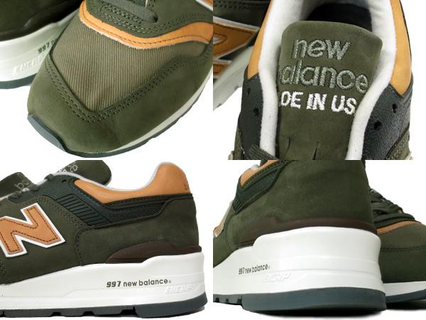 LOWTEX PLUS  NEW BALANCE M997DCS New Balance M 997 DCS GREEN KHAKI ... 907eb59e3