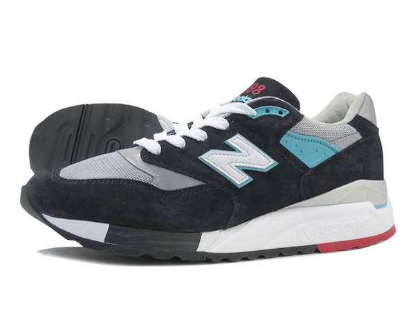 finest selection aab78 c5576 NEW BALANCE M998CBB BLACK/TEAL/GREY 【MADE IN U.S.A.】