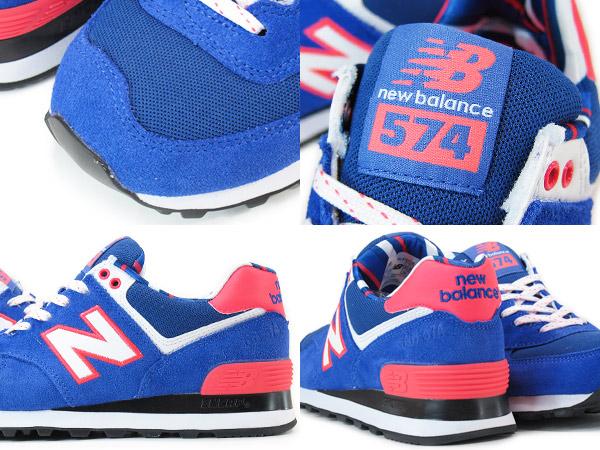 NEW BALANCE WL574YCB New Balance WL574YCB BLUE/PINK