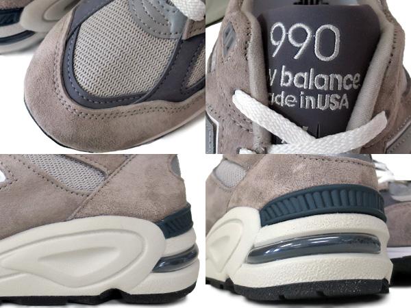 新平衡 M990GR2 新平衡 M 990 GR2 灰色