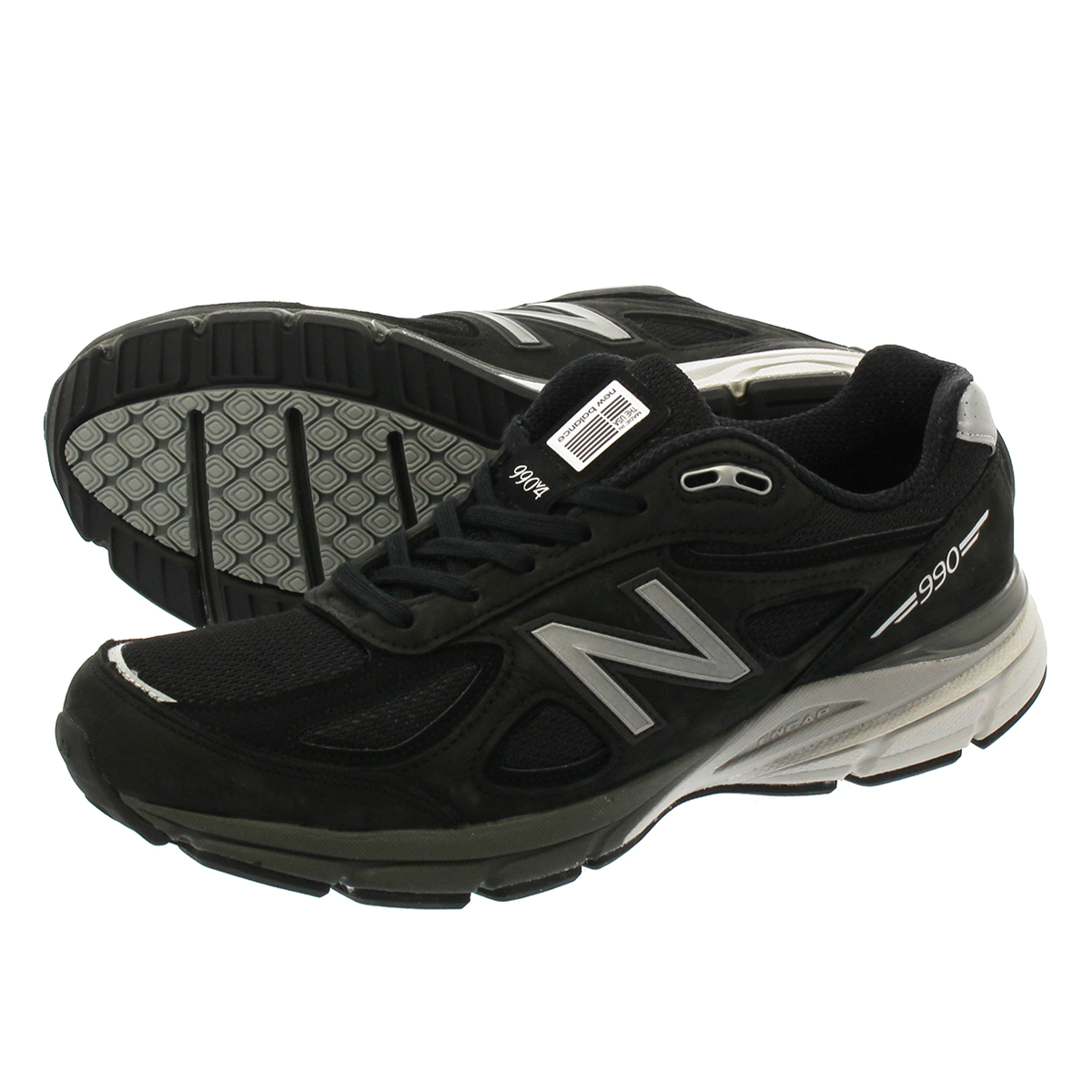 NEW BALANCE M990IB4 【MADE IN U.S.A】 ニューバランス M990 IB4 BLACK/SILVER