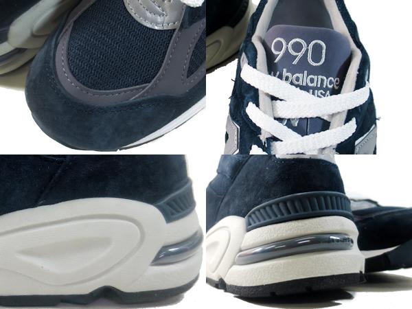 sports shoes 1c59c e19cc NEW BALANCE M990NV2 New Balance M 990 NV2 NAVY