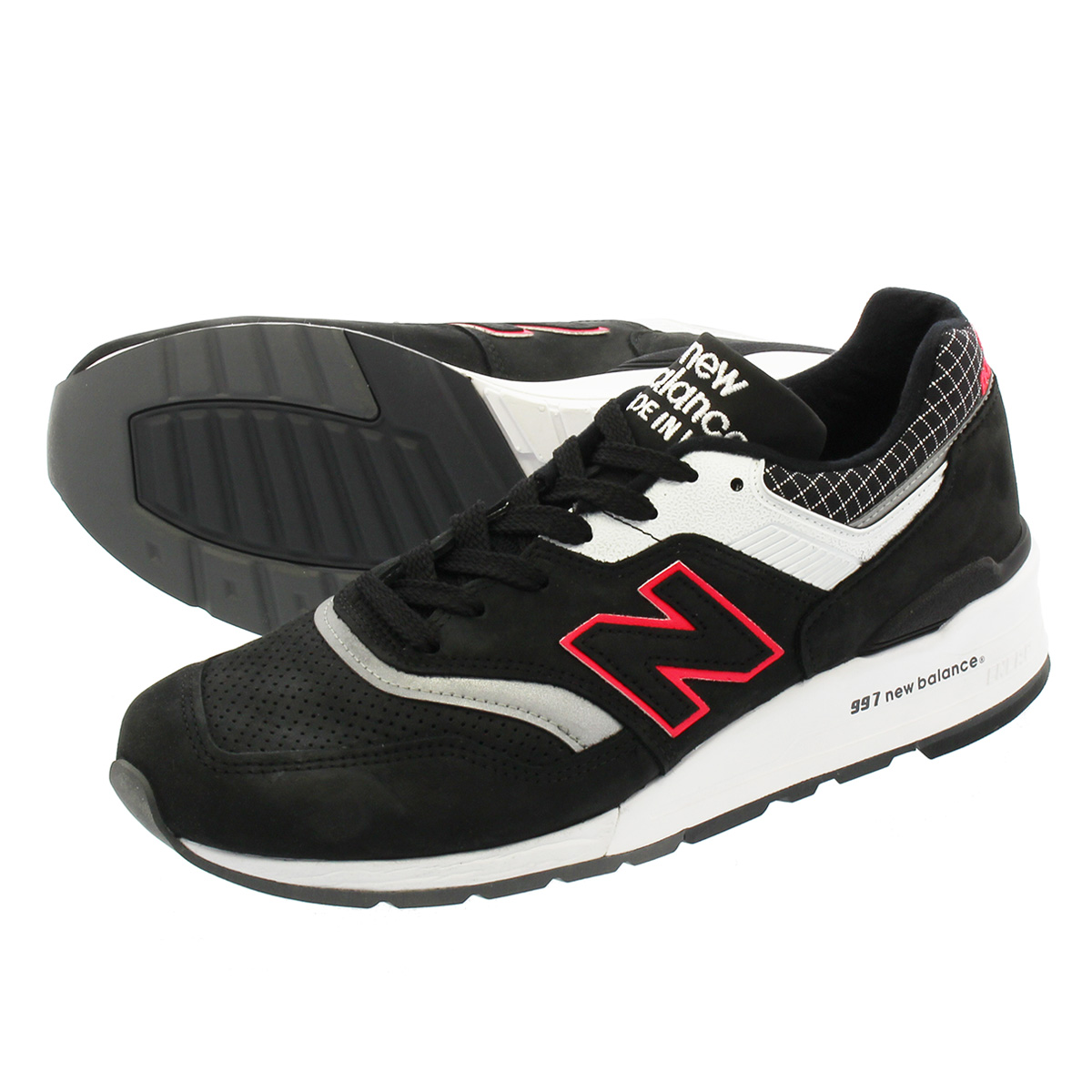 NEW BALANCE M997CR 【MADE IN U.S.A.】 【Dワイズ】 ニューバランス M 997 CR BLACK/WHITE/PINK