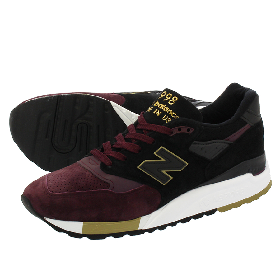 NEW BALANCE M998NYM 【MADE IN U.S.A.】 【Dワイズ】 ニューバランス M998NYM BURGUNDY