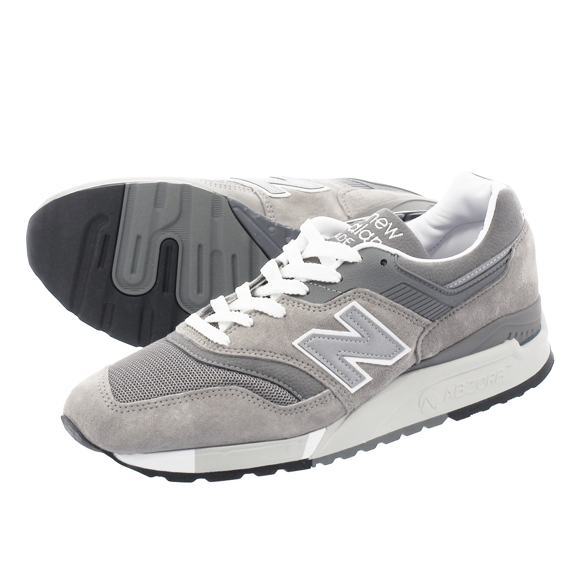 NEW BALANCE M9975GR 【MADE IN U.S.A.】 【Dワイズ】 ニューバランス M9975GR GREY